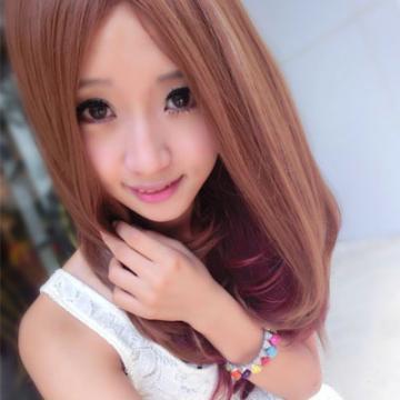 【MA131】時尚名媛中分混色長捲髮