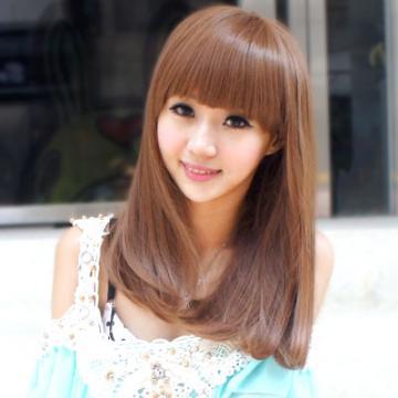 【MC082】學院女孩清新氣息中短髮