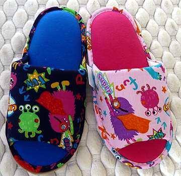 (e鞋院)搗蛋怪獸兒童舒適室內拖鞋