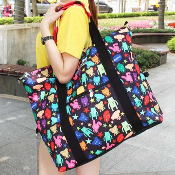 【Coplay設計包】變身!黑| 旅行袋