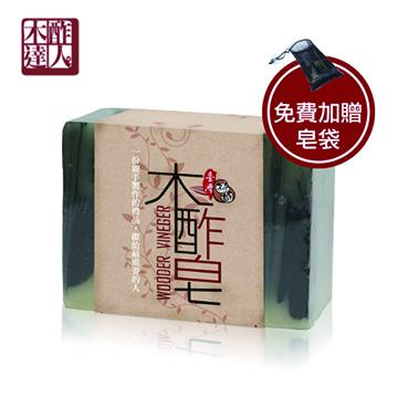 山.水.木酢皂(沐浴專用)【#23701】-木酢達人
