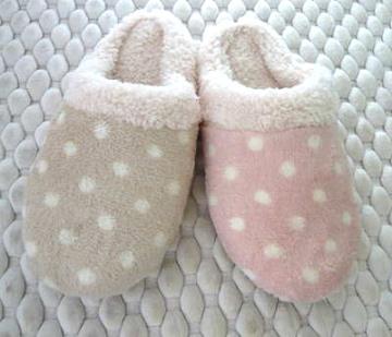 (e鞋院)【雪糕點點 】舒適室內拖鞋(2雙入)