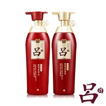 【呂 Ryoe】紅瓶燙染受損洗護髮精2件組 (洗髮400ml+潤髮400ml)