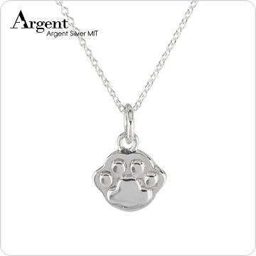 【ARGENT安爵銀飾晶品】動物系列「迷你貓掌(小)」純銀項鍊