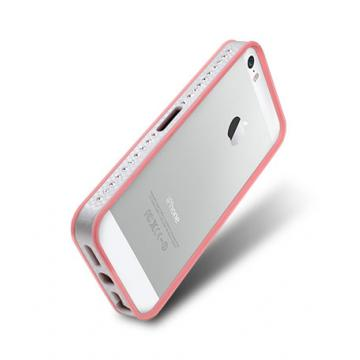 iPhone 5/5s- 奢華版保護套- 玫瑰粉