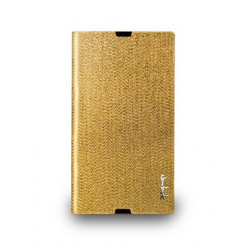 Sony Z Ultra- 璀璨金蔥保護套- 閃耀金