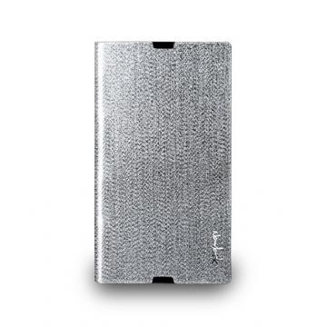 Sony Z Ultra- 璀璨金蔥保護套- 閃耀銀