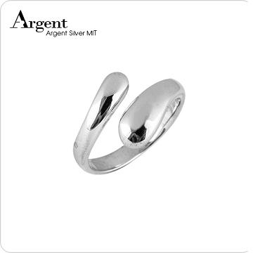 【ARGENT銀飾】造型系列「水滴」純銀戒指