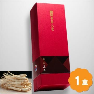 養蔘人家韓國鮮採蔘禮盒蔘氣盎然150克盒