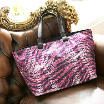【COPLAY設計包】鱷魚紫~時尚船型