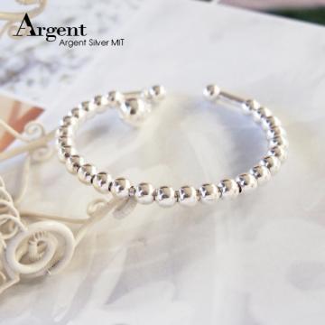 【ARGENT銀飾】手環系列「閃耀連珠」純銀手環