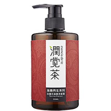 【茶寶 潤覺茶】白薑花滋養洗髮露(350ml)一般及乾性膚質均適用