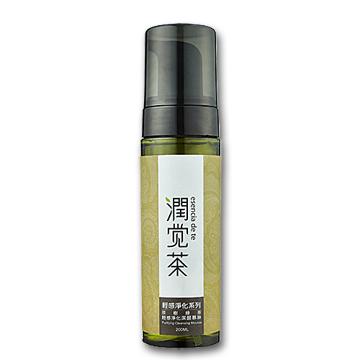 【茶寶 潤覺茶】茶樹綠茶輕感淨化潔顏慕斯(200ml)一般及油性膚質適用