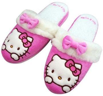 (e鞋院) 【暖暖KITTY】舒適室內拖鞋