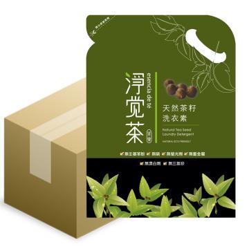 【茶寶 淨覺茶】天然茶籽洗衣素補充包1800ml(4入組)