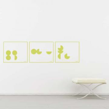 【Smart Design】創意無痕壁貼◆幾何 8色可選