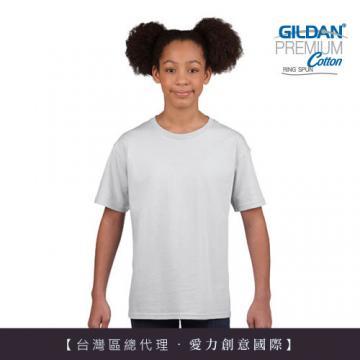 GILDAN 亞規短袖素面-童T(7件)