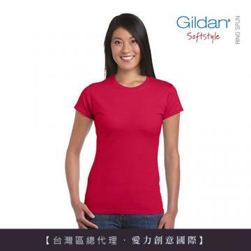 <font color=red>美國第一品牌GILDAN 彈性修身女用腰身剪裁T-Shirt 【超值三件組】</font>