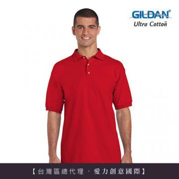 GILDAN 總代理-100%美國棉  素面短袖POLO衫(1件)