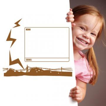 【Smart Design】創意無痕壁貼◆閃電記事 8色可選