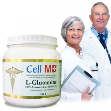 下殺4折Cell MD─左旋麩醯胺酸(L-Glutamine)(450公克/瓶)