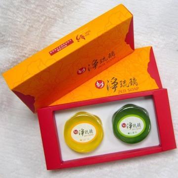 《淨琉璃》手工美容皂禮盒【100g*二入】