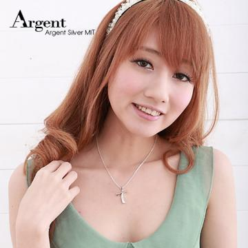 【ARGENT銀飾】十字架系列「曲十字」純銀項鍊
