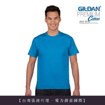 GILDAN 總代理-100%美國棉~亞規成人圓筒短袖素面Thirt (5件)