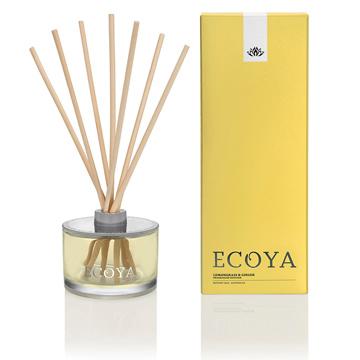 澳洲ECOYA 天然室內薰香瓶 -香茅薑根 200ml