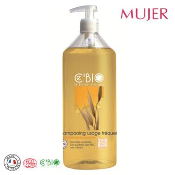 《MUJER》有機蜂蜜燕麥平衡洗髮精(500ML/瓶)