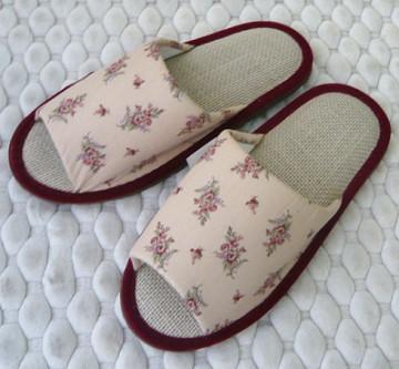 (e鞋院) 【復刻風潮】亞麻室內拖鞋 ~NEW~