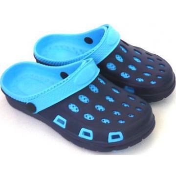 (e鞋院)園丁鞋/布希鞋---女(藍)