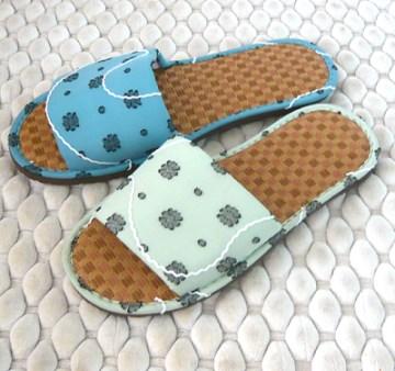 (e鞋院) 【禪風印象】紙蓆室內拖鞋