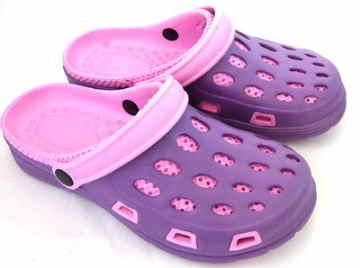 (e鞋院)園丁鞋/布希鞋---女(紫粉)