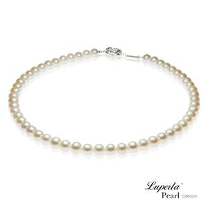 大東山珠寶 美麗公主之星珍珠項鍊 - 白