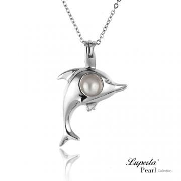 大東山珠寶 戀海藍天珍珠項鍊 歐美熱銷許願珍珠