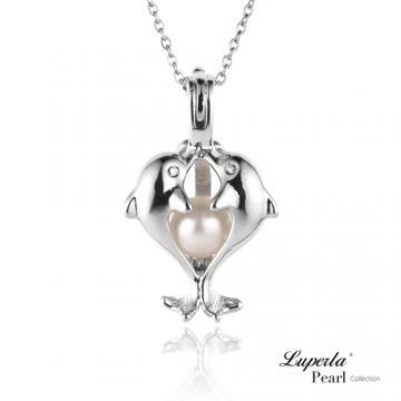 大東山珠寶 擁抱珍心珍珠項鍊 歐美熱銷許願珍珠