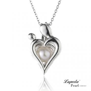 大東山珠寶 心心相印珍珠項鍊 歐美熱銷許願珍珠