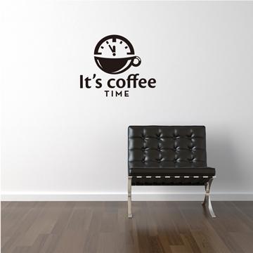 【Smart Design】創意無痕壁貼◆coffee time