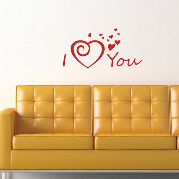 【Smart Design】創意無痕壁貼◆愛的物語