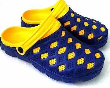 (e鞋院)園丁鞋/布希鞋II---男(藍/黃)