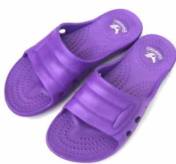 (e鞋院)輕量室內/室外拖鞋-女(紫)