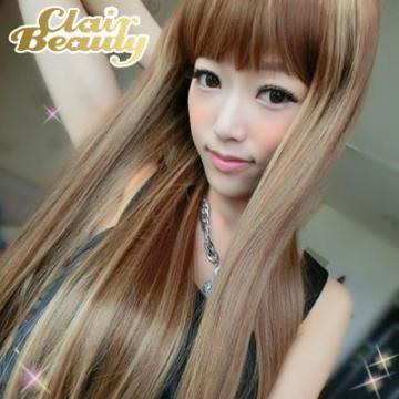 【MC086】蜜糖宣言柔美挑染色長直髮
