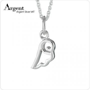 【ARGENT銀飾】迷你系列「小翅膀」純銀項鍊