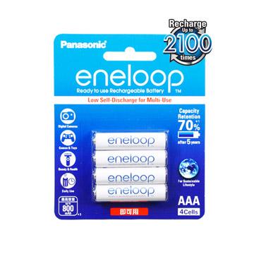 Panasonic低自放鎳氫充電電池(4號4入)