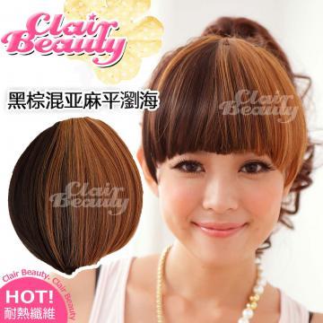 【MP001】雙色漸層瀏海髮片