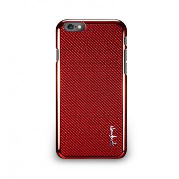 iPhone 6 - 玻纖保護背蓋- 尊爵紅
