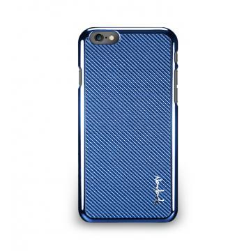 iPhone 6 - 玻纖保護背蓋- 天空藍