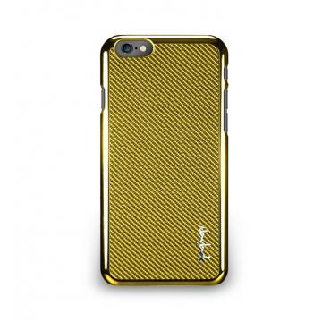 iPhone 6 - 玻纖保護背蓋- 閃耀金