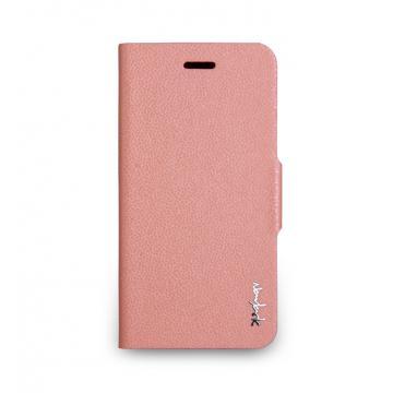 iPhone 6 -柔光側掀站立式保護套- 玫瑰粉